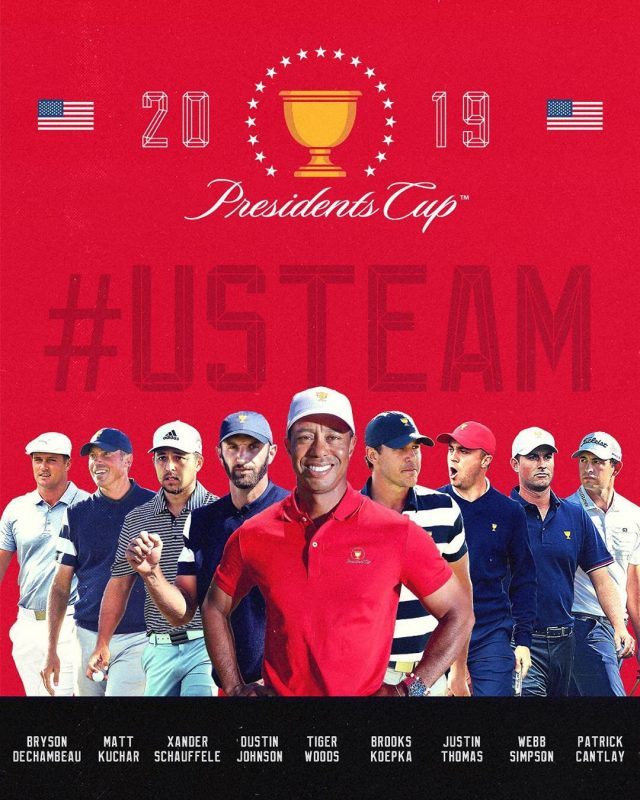 presidents cup 2019 team