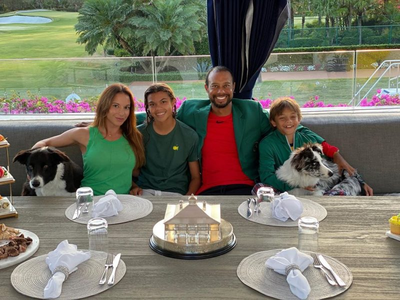 Tiger Woods family champions dinner