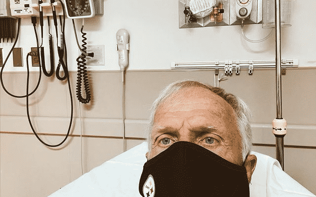 Greg Norman spent Christmas Day in the hospital with COVID [UPDATE]
